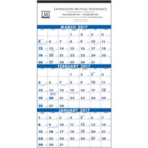 Business Calendars: commercial calendars perforation
