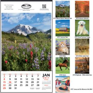 Business Calendars: commercial calendars vertical