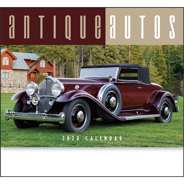 Antique cars calendars 2020