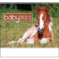 baby farm animal calendar 2020