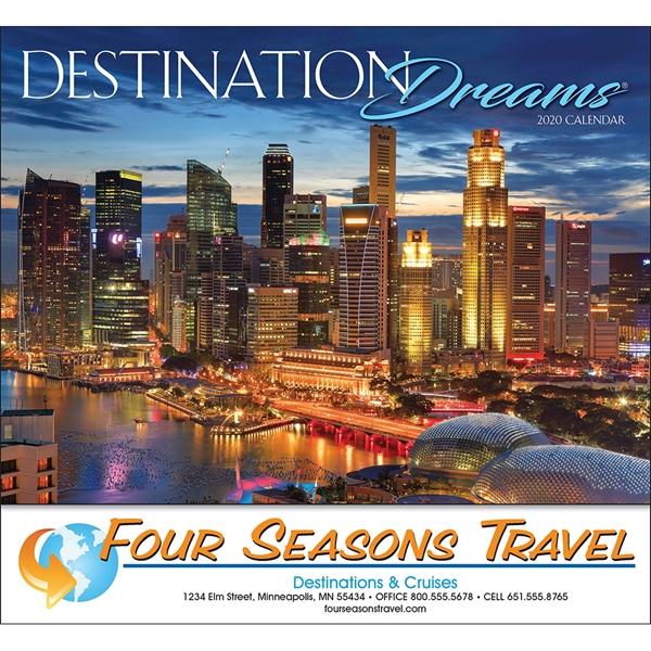 2020 Destinations calendar