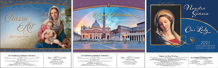 All New Religious Calendars Titles for 2021 for JRK – Catholic, Lutheran, Protestant, Jewish, Bible Verse, Franciscan, Episcopal & Inspirational.